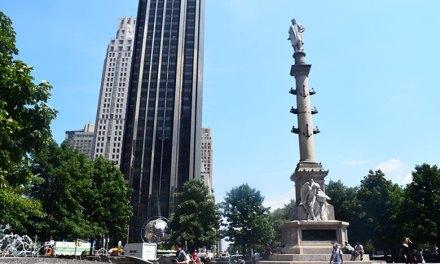 Porque ir ao Columbus Circle em New York