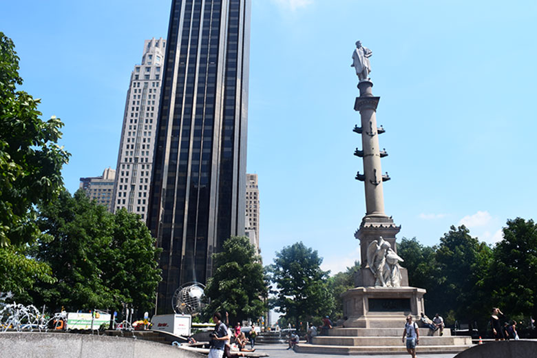 Columbus Circle em New York