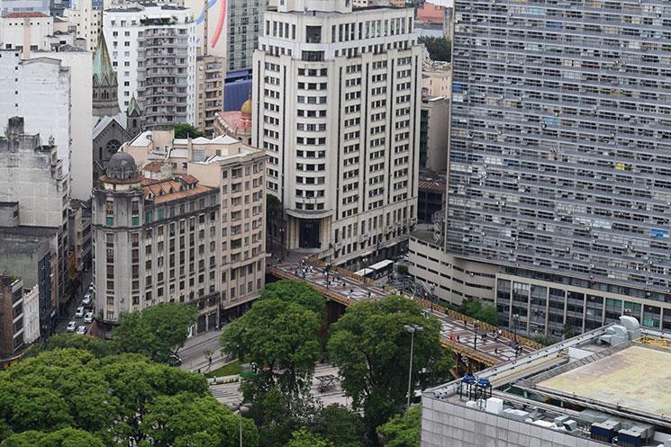 São Paulo do alto do Edifício Martinelli