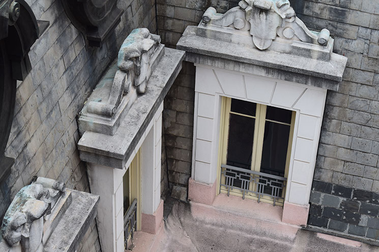 Detalhes do interior do Edifício Martinelli