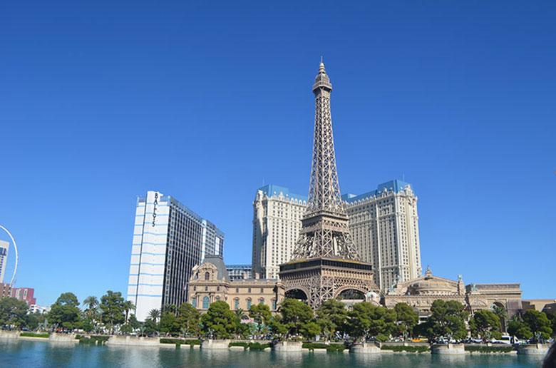 Réplica da Torre Eiffel em Las Vegas