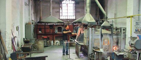 Fábrica de vidro em Murano