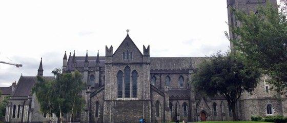 Fachada da Catedral de Dublin