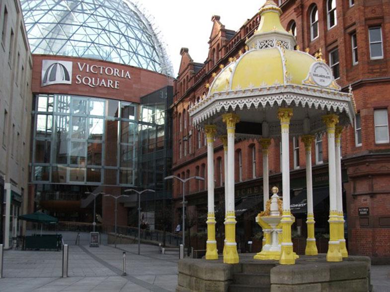 Victoria Square em Belfast