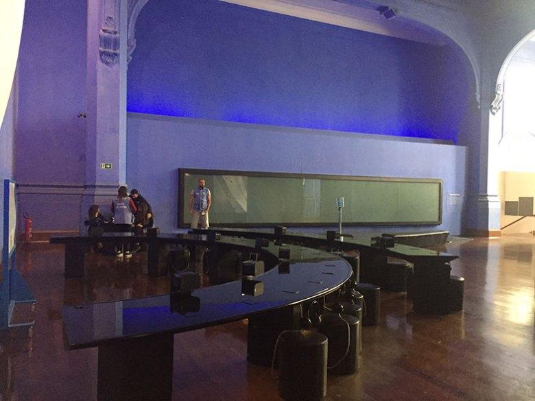Primeiro andar do Museu Catavento