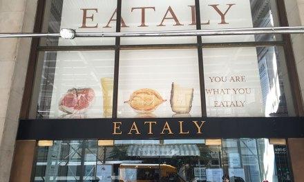 Eataly. Eat + Italy. New York. Sem mais…