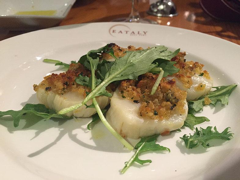 Capesante no Eataly New York