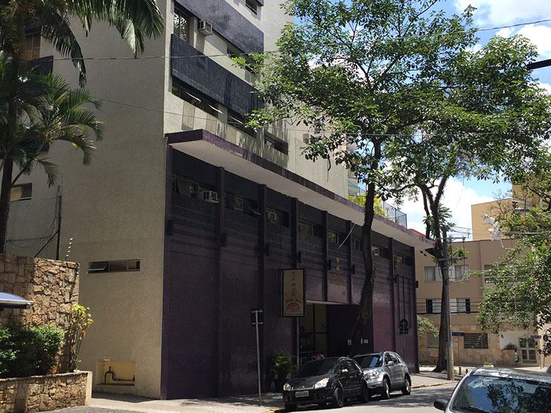 Fachada do hotel Century Paulista