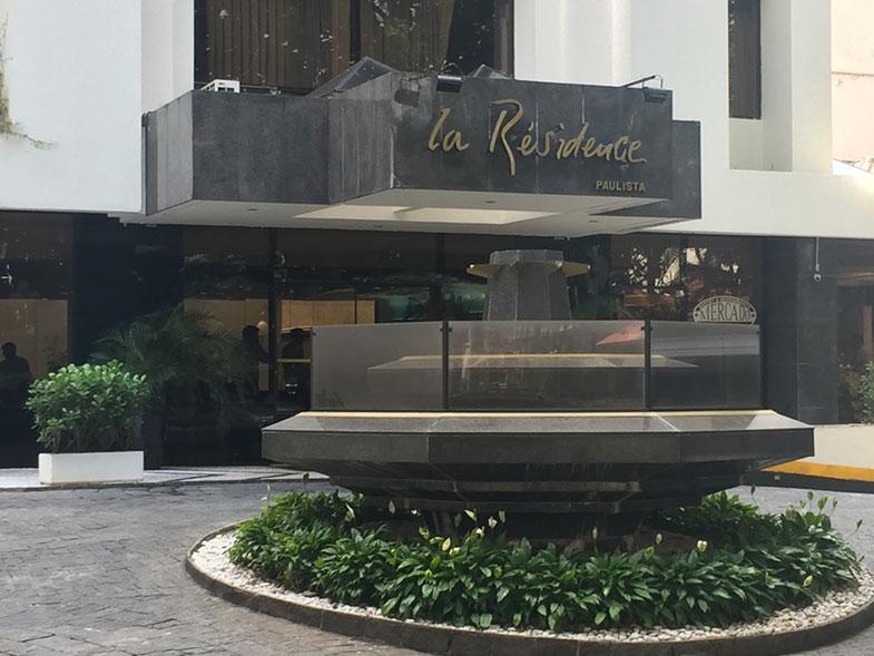 Fachada o La Residence Paulista em São Paulo