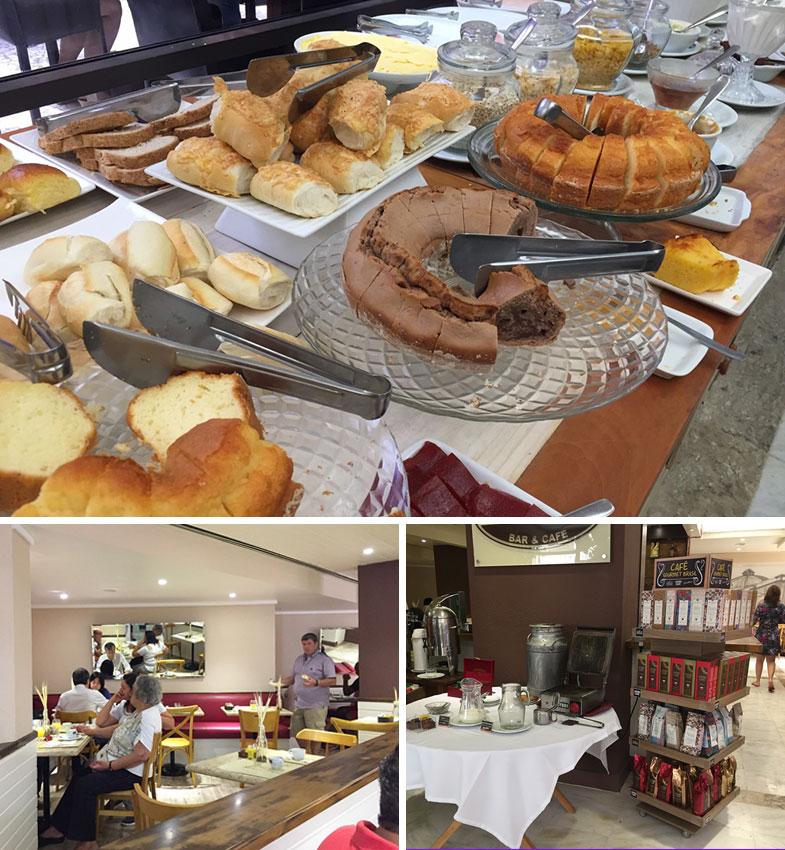 Café da manhã do La Residence Paulista