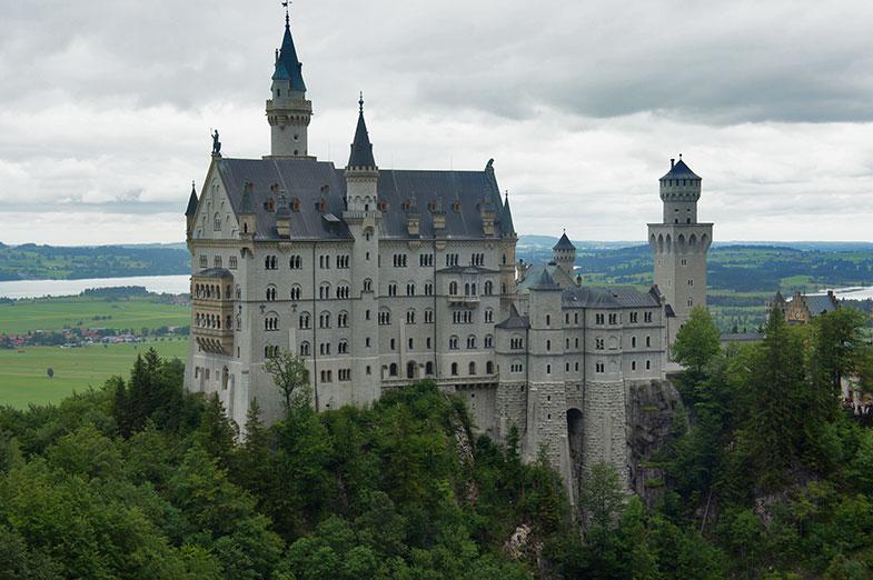 Castelo de Neuschwanstein – veja porque inspirou Walt Disney