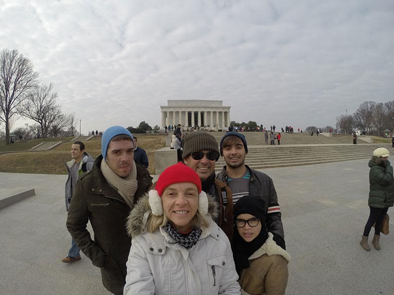 Washington em família