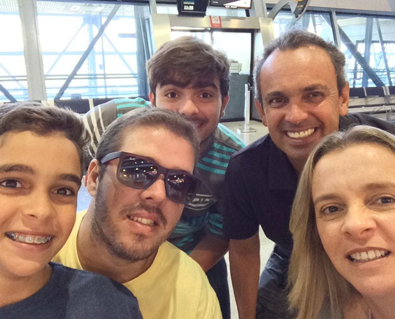 Viajar em família