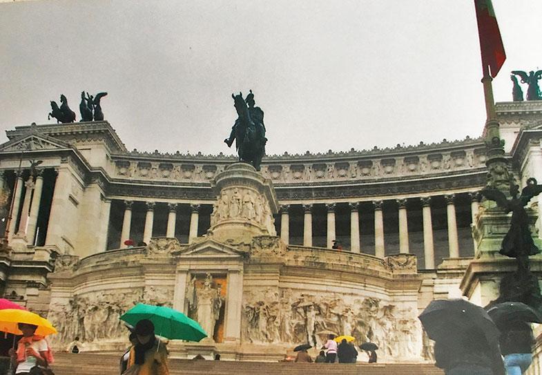 Monumento a Vitório Emanuel II em Roma