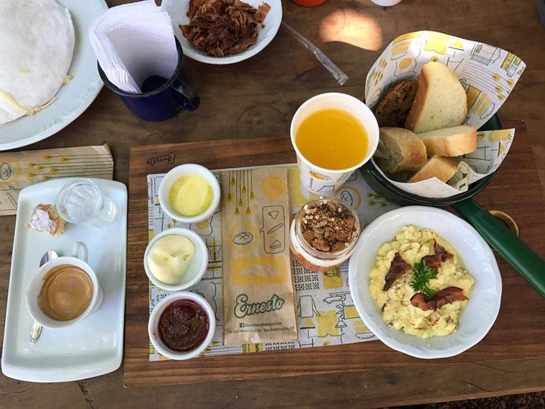 Combinado do Ernesto Cafés Especiais em Brasília