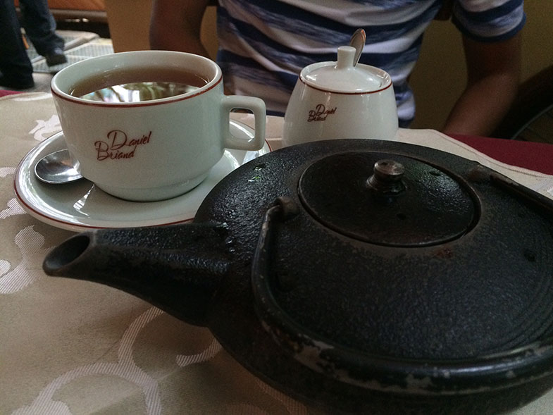 Chá da tarde do Café Daniel Brian em Brasília