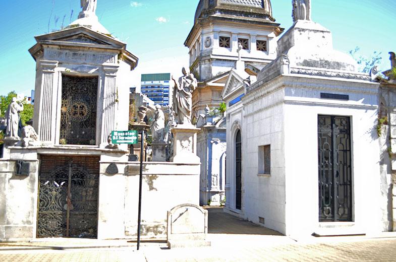 Cemitério da Recoleta e o túmulo de Evita Perón