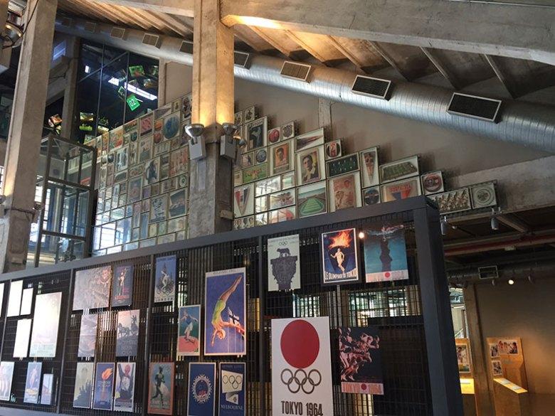 Pavimenro térreo do Museu do Futebol
