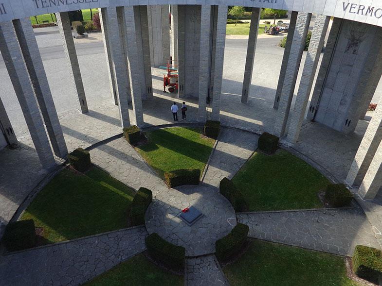 Mardasson Memorial em Bastogne