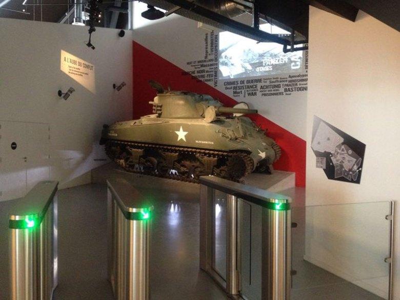101 Airbone Museum Le Mess em Bastogne