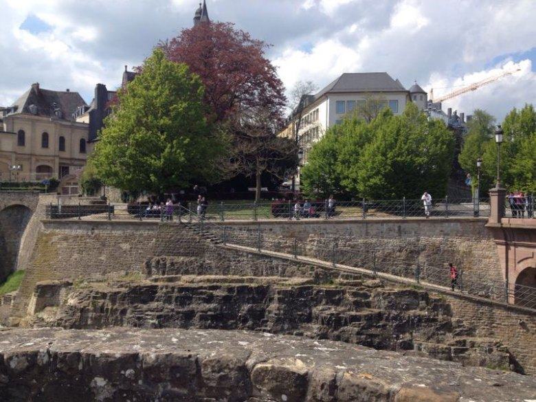 Pelas ruas de Luxemburgo