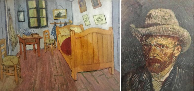 Obras do Museu Van Gogh em Amsterdam