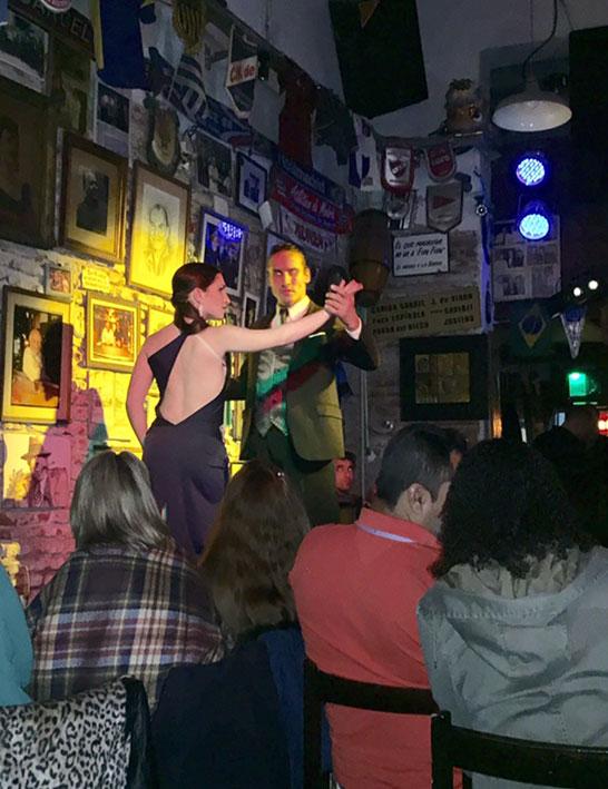 Tango no Bar Fun Fun em Montevideu