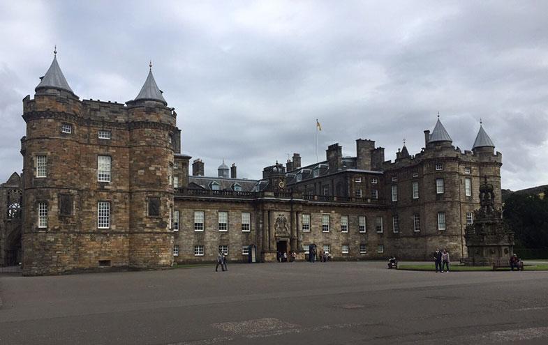 Holyrood Palace em Edimburgo