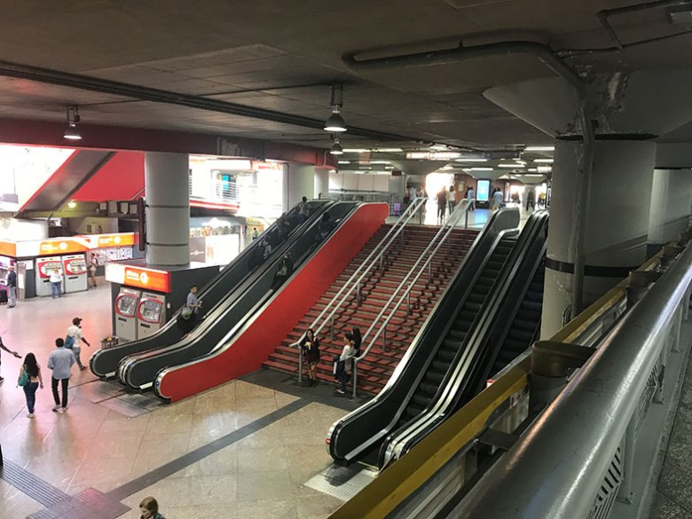 Estação de Atocha em Madrid