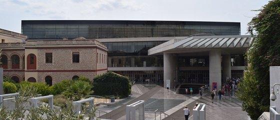 Fachada do Museu da Acrópole de Atenas