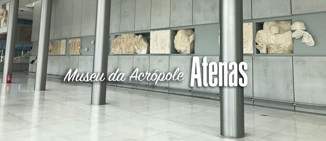 Visita ao Museu a Acrópole de Atenas