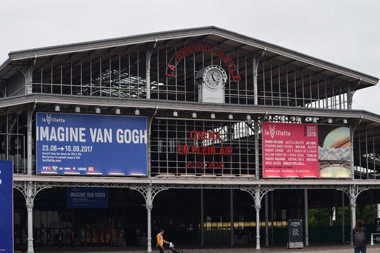 Imagine Vah Gogh no Grande Halle de la Villette
