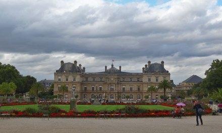 As belezas do Jardim de Luxemburgo em Paris