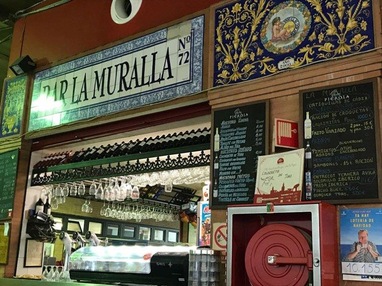 Restaurante no Mercado de Triana