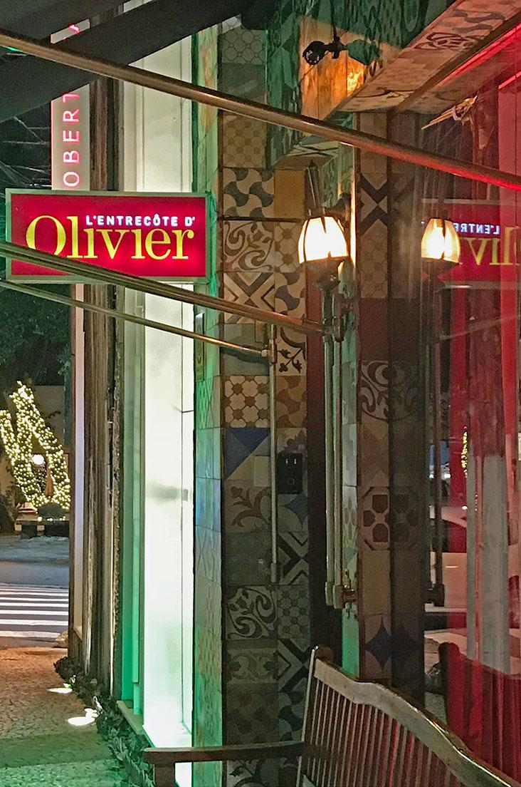 L'Entrecôte d'Olivier Anquier em São Paulo