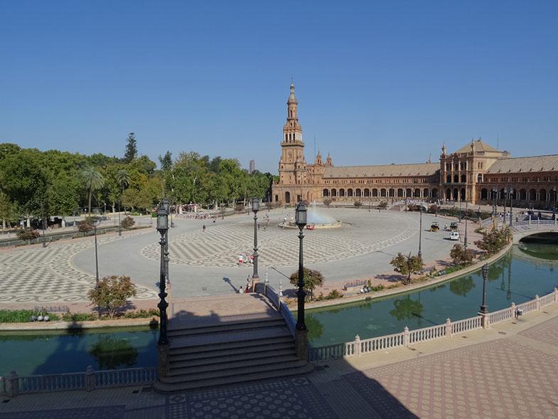 Sevilha Plaza de España