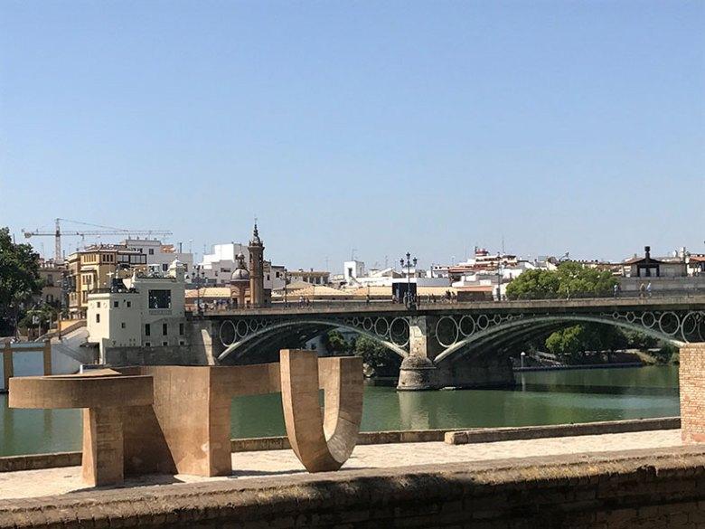 Ponte de Triana em Sevilha