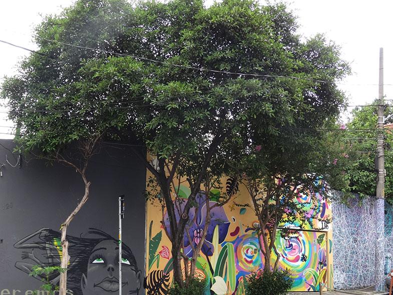 Beco do Batman na Vila Madalena em São Paulo