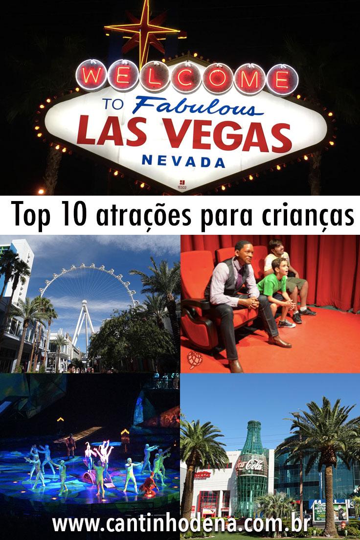 Top 10 atrações para crenças em Las Vegas