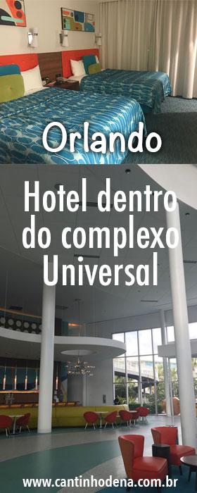 Review de um hotel dentro da Universal