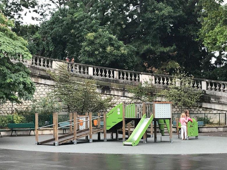 Parque na Sacré Couer