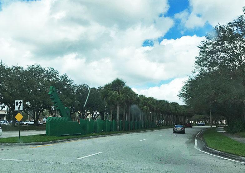 Entrada do Sawgrass Mills em Fort Lauderdale