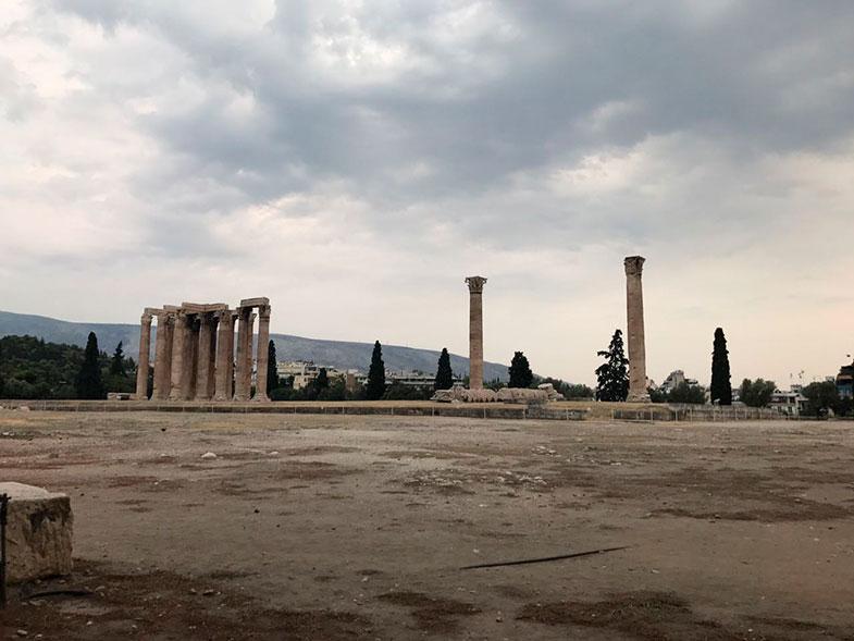 Templo de Adriano em Atenas