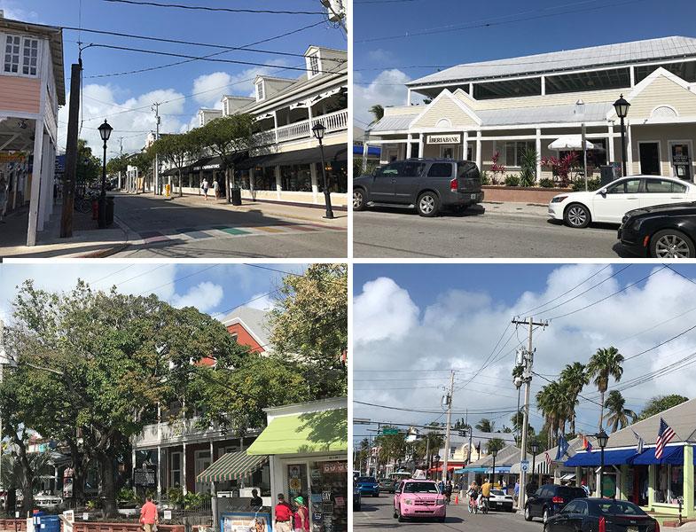 Pelas ruas de Key West