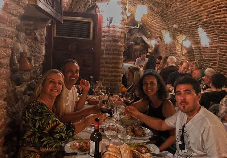 Jantar do El Botin em Madrid
