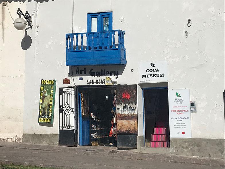 Museus em Cusco: Coca