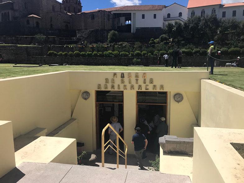 Museus e Cusco: Sitio Qorikancha