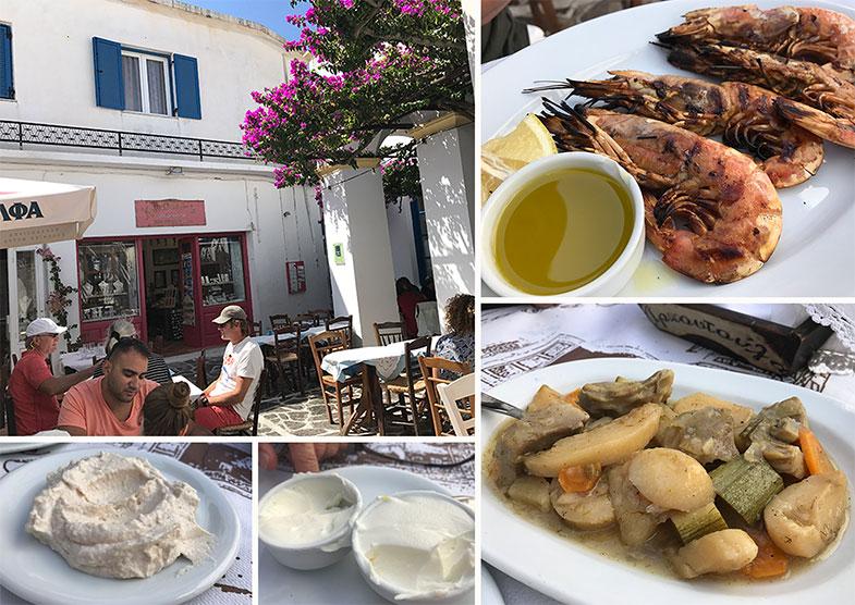 Onde comer em Plaka em Milos