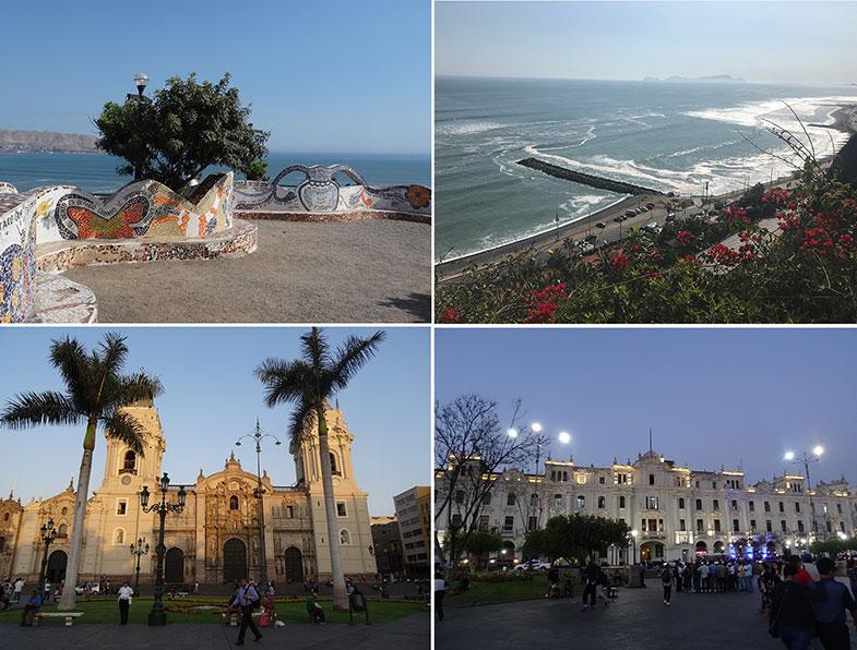 Lima durante uma conexão longa