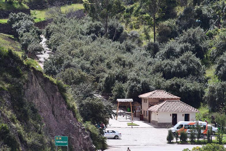 Tambomachay numa viagem para o Peru